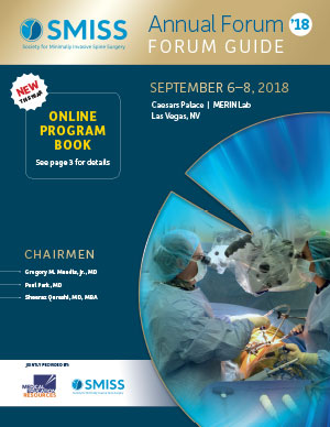 SMISS-Spine Medical Meeting-Online Program Book 2018